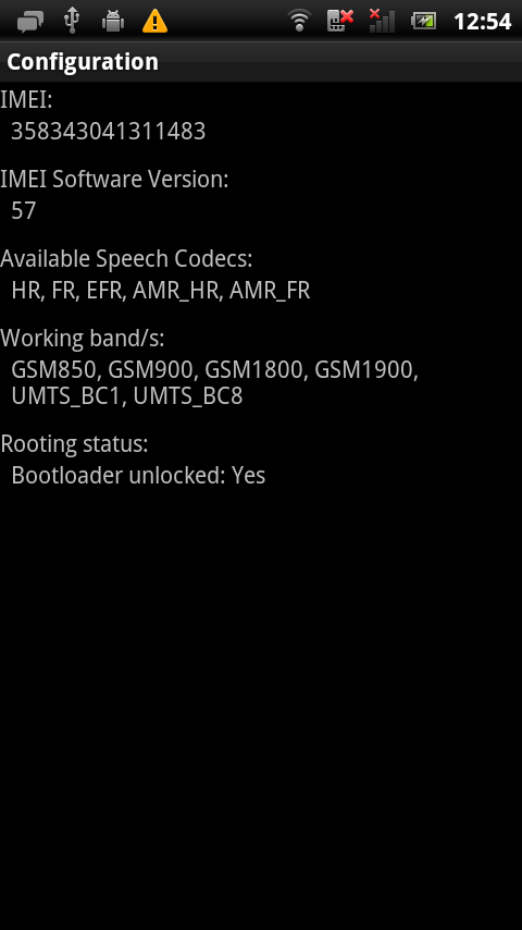 【ST18i】Bootloader Unlock端末のre-lock化
