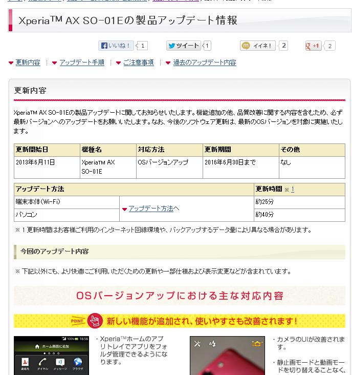 【コラム】Xperia AXのJBアップデートで実感した3つの鉄則(とrootedとCubeMod)