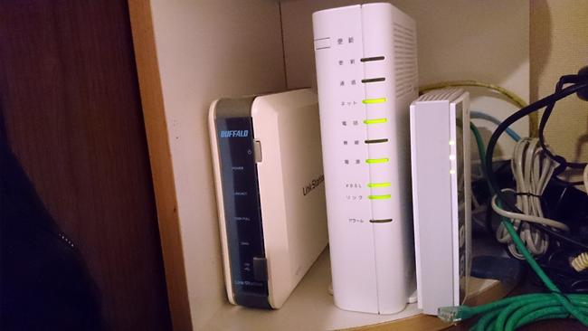 【コラム】自宅Wi-Fiはもう完全に生活インフラの一部と実感した日。
