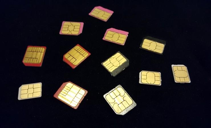 【コラム】MVNOのSIMが全部ピンクで判別がつかない⇒良い整理法は無いか考えてみた結果