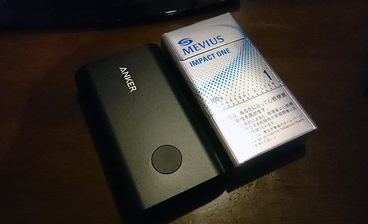 【コラム】久しぶりにモバイルバッテリー買ってみて気づいたこと:ANKER PowerCore+10050レビュー