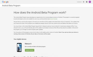 【コラム】Android Beta ProgramでENROLL Deviceに端末が表示されない時の対処法