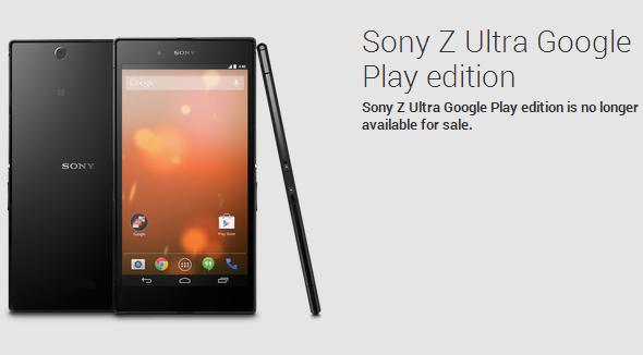Sony-Z-Ultra-Google-Play-edtion-EOL