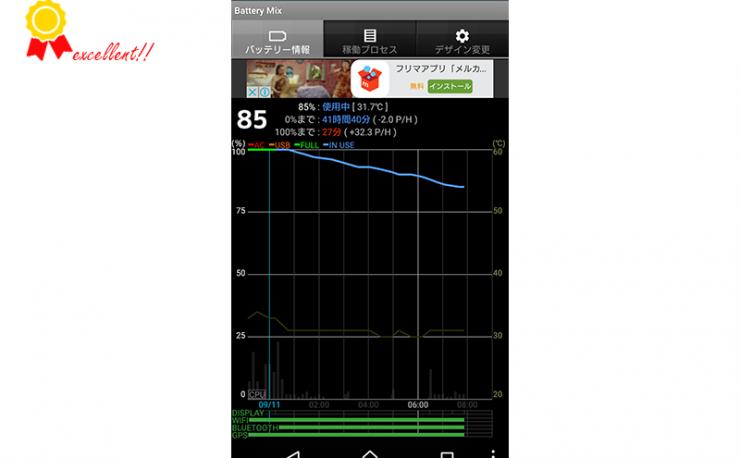 【Tips】電池の持ちが良くなるかもしれない対応(2):画面で無効化できないアプリを無効化する方法